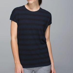 Lululemon Find Your Zen Short Sleeve Top